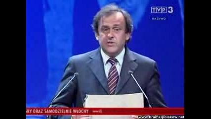 Euro 2012 Michel Platini