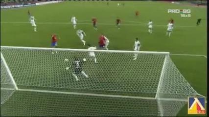 Цска Москва - Волфсбург 2:1 Шампионска Лига !!! (25.11.09)