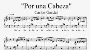 """""""Por una Cabeza"""" / Tango - Carlos Gardel (Piano Cover)"""