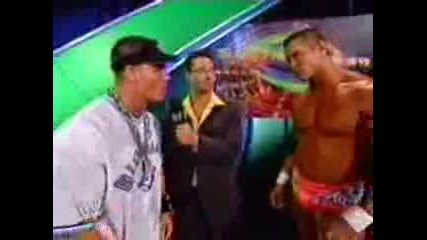 Orton And Cena Sing The Fun Song {smqh}