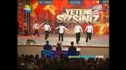 Таланти на Турция - Yetenek Sizsiniz Turkiye - Break Dans Grupa Гравитация