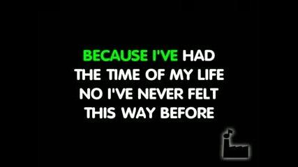 Time Of My Life - Dirty Dancing - Karaoke