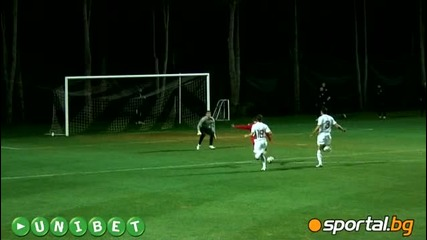 Цска София - Спартак Москва 0 - 0 (зимен Лагер 06.02.2010)