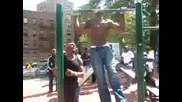 Amar 58 Pull Ups in 2min Middle Weight Champion