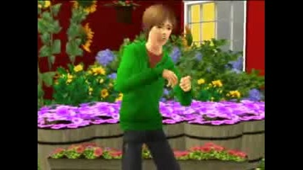 (sims 3) Justin Bieber - One Less Lonely Girl