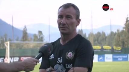 Белчев: Доволен съм от играта, но нека не се заблуждаваме