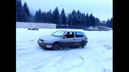 drifting In Snow