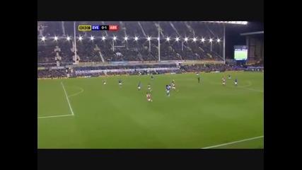 Евертън - Арсенал 0:1