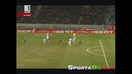 Лил 1 - 0 Ливърпул 1/8 - финал Лига Европа (11.03.2010.)