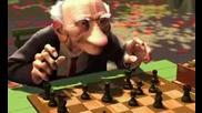 Geris Game [ Original Pixar Short Movie ]