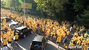 шествие на шведите в Киев хилиади заляха улиците