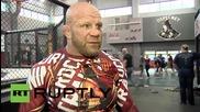Russia: American MMA fighter Jeff Monson dreams of Russian citizenship