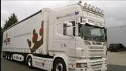 Scania R560 V8 Transwhite Portugal Special Sound! (hd)