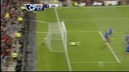 Дебютант понесе Юнайтед към победа, Гигс се пусна в игра