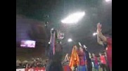 Barcelona Lifting the Champion League Throphy and Celebrating 2008 2009 - Video.flv