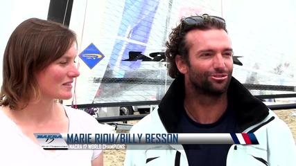 Състезание с килови лодки - Nacra 17 World Championship The Hague 2013