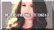 Selena Gomez - Lover In me (espanol text_