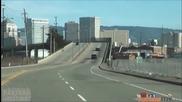 Нисан Gtr срещу полицейски коли - Nissan Gtr vs Police cars (funny video)