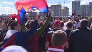 Russia: Fans watch Russia-Portugal go head-to-head in Confed Cup sell-out