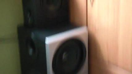 2x Logitech z-2300 60% Power