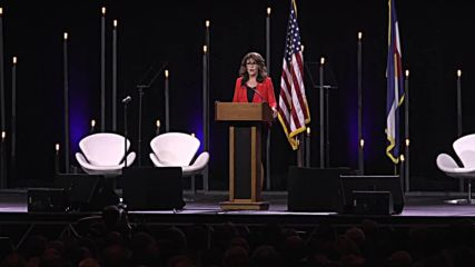 USA: 'America will win' -  Palin opens for Trump at Conservative Summit in Denver