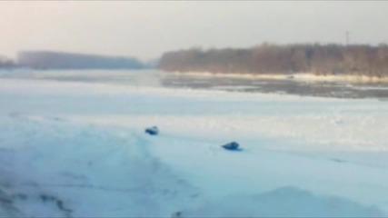 Красотата и Ледоходът на р. Дунав