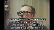 Рядко интервю с Фред Лойхтер - експерт по газови камери. Докладът на Лойхтер