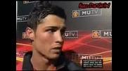 Cristiano Ronaldo Interview - 27 - 01 - 08