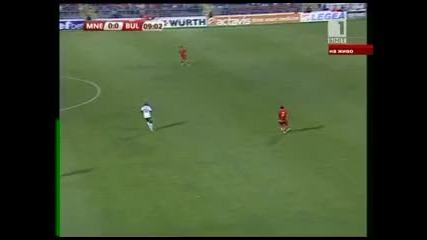 Черна Гора-българия първо полувреме част 2