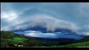 Time lapse - Гръмотевична буря 24.4.2014