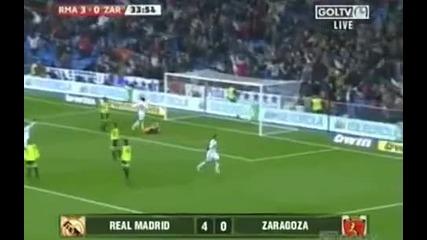 Реал Мадрид - Реал Сарагоса 6:0 Всички Голове