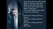 Lady Gaga - Born this way Lyrics