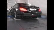 Mercedes Cls 63 Amg 5.5 Bi-turbo на Dyno тест