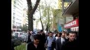 Gokboru Turkcu-turancilar Dernegi 3 Mayis Tandogan'a Girerken - http://hunturk.net/