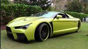 Нереално Infiniti G35 Exotic Electric Car- Supercar Concept Vaydor