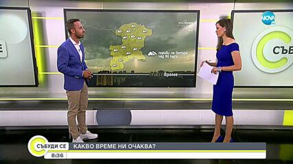 Прогноза за времето (08.08.2020 - сутрешна)