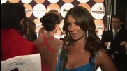Catherine Siachoque on her dress and accessories by Roberto Cavalli Pee 2009