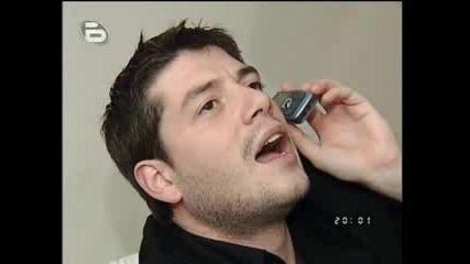 Иван Ангелов в хотелската си стая *28.03*