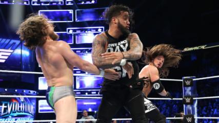 AJ Styles & Daniel Bryan vs. The Usos: SmackDown LIVE, Oct. 23, 2018