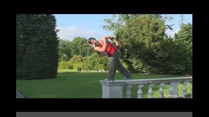 Как се прави Aerial Twist с Chase Armitage