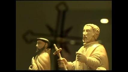Религиозно изкуство, показано в Рио де Жанейро, отдава почит към папа Франциск