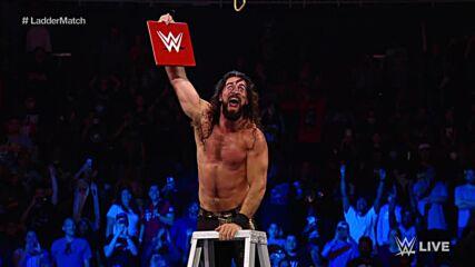 Rey Mysterio vs. Seth Rollins vs. Finn Bálor vs. Kevin Owens - Fatal 4-Way Ladder Match: Raw, Oct. 25, 2021