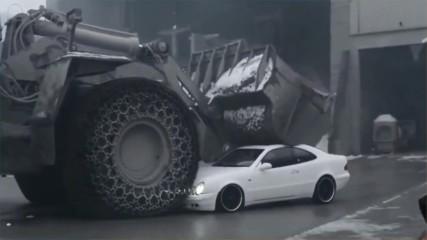 Трактори трепач - ЛУДИ ИЗЦЕПКИ