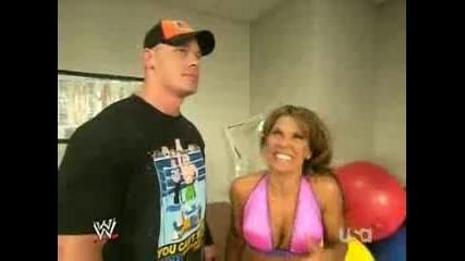 Wwe - John Cena връща прашките на Mickey James