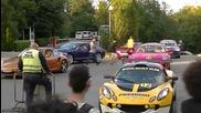 Рев от колите на Premium Rally София !