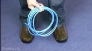 Как да нарежем въже в извънредна ситуация