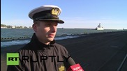 Poland: Chinese warships dock in Gdynia Navy port