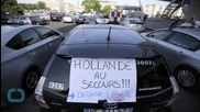 Chaos in Paris Streets: Taxi Drivers Flip Cars in Violent Uber Protest