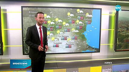 Прогноза за времето (27.10.2020 - сутрешна)