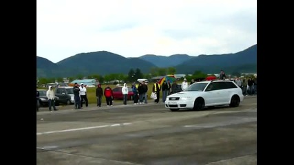 Audi Rs4 vs. Mitsubishi Evo 9